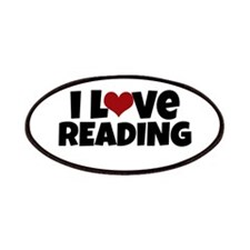 I Love Reading Patches