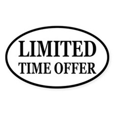 Limited Time Offer Decal