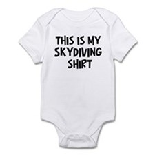 My Skydiving Infant Bodysuit