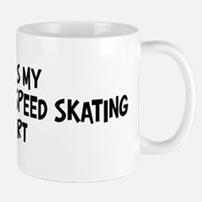 My Short Track Speed Skating Mug