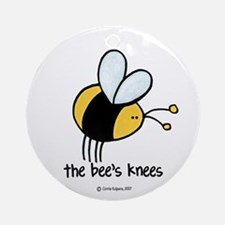 The Bee's Knees Ornament (Round)