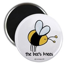 """The Bee's Knees 2.25"""" Magnet (10 pack)"""