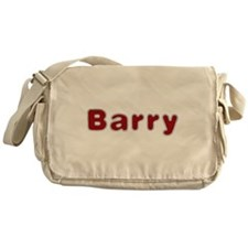Barry Santa Fur Messenger Bag