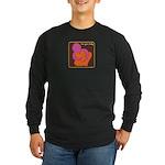 Love Your Body Long Sleeve Dark T-Shirt
