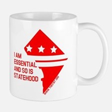 I AM ESSENTIAL-RED Mugs