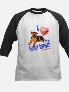 I love my German Shepherd Puppy Baseball Jersey