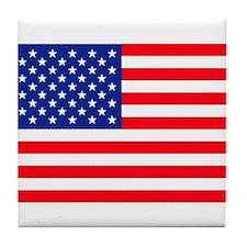 Tile Coaster - Us Flag