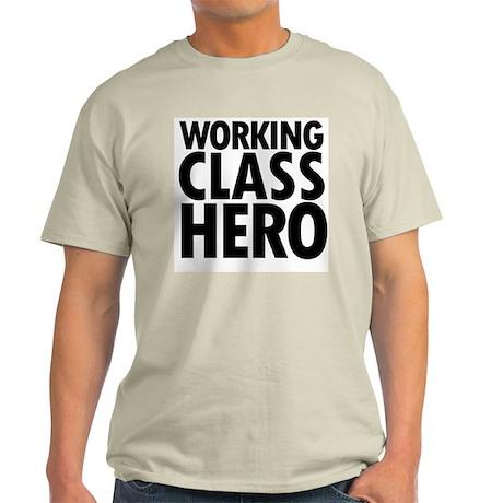 Working Class Hero Ash Grey T-Shirt