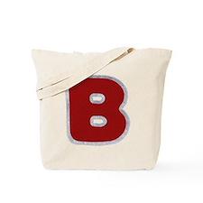 B Santa Fur Tote Bag