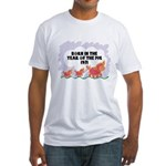 1971 Year Of The Pig Fitted T-Shirt