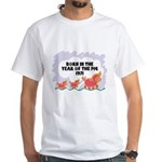 1971 Year Of The Pig White T-Shirt