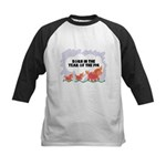 Year Of The Pig Kids Baseball Jersey