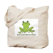 Keep Our Forests Green Tote Bag
