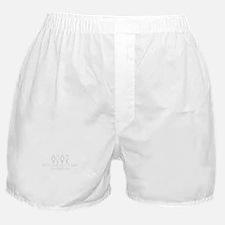 Don't Hate, Co-Habitate Boxer Shorts