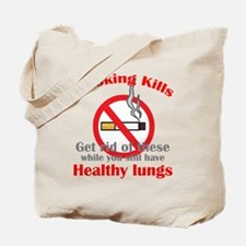 Smoking Kills Tote Bag