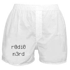 r@di0 n3rd Boxer Shorts