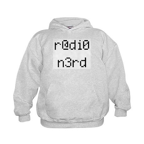 r@di0 n3rd Kids Hoodie