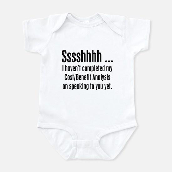 Cost Benefit Analysis Infant Bodysuit