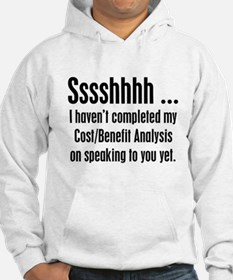 Cost Benefit Analysis Hoodie