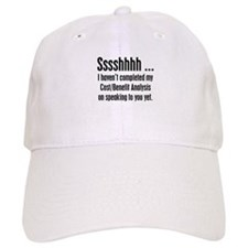 Cost Benefit Analysis Baseball Cap