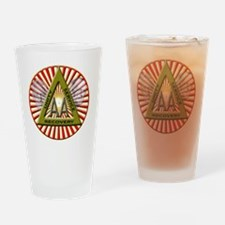 Dr Bob and Bill W Drinking Glass