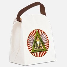 Dr Bob and Bill W Canvas Lunch Bag