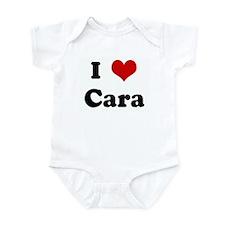 I Love Cara Infant Bodysuit