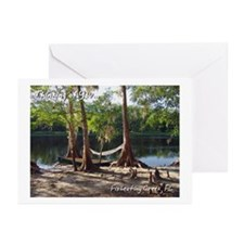 Fisheating Creek -Lazy Days Greeting Cards