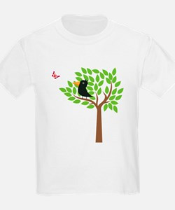 Crow In A Tree T-Shirt