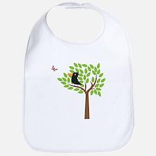 Crow In A Tree Bib