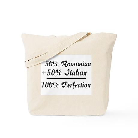 Half Italian, Half Romanian Tote Bag