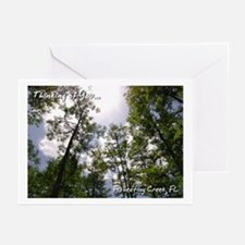 Fisheating Creek -Treetops Greeting Cards