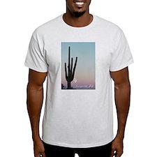 WTM -Cactus & Moon Ash Grey T-Shirt