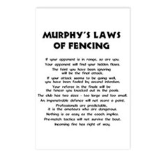 Murphy's Law -  Postcards (Package of 8)