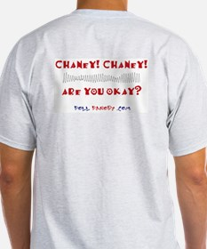 Chaney! Chaney! Ash Grey T-Shirt