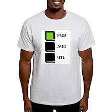 PGM AUD UTL Ash Grey T-Shirt