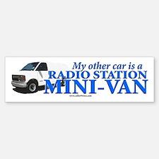 The VAN! Bumper Bumper Bumper Sticker