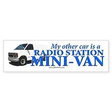 The VAN! Bumper Bumper Sticker