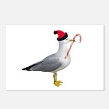 Santa Seagull Postcards (Package of 8)