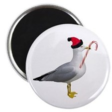 Santa Seagull Magnet