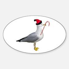 Santa Seagull Decal