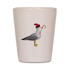 Santa Seagull Shot Glass
