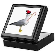 Santa Seagull Keepsake Box