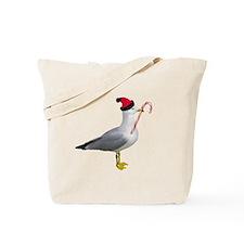 Santa Seagull Tote Bag
