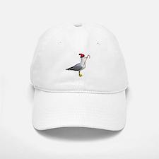 Santa Seagull Baseball Baseball Cap