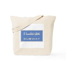 Subway Station, Dubai - UAE Tote Bag