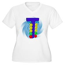 Drag Racing Christmas Tree Plus Size T-Shirt