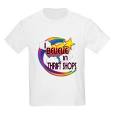 I Believe In Thrift Shops Cute Believer Design Kid