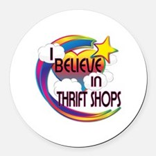 I Believe In Thrift Shops Cute Believer Design Rou