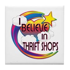 I Believe In Thrift Shops Cute Believer Design Til